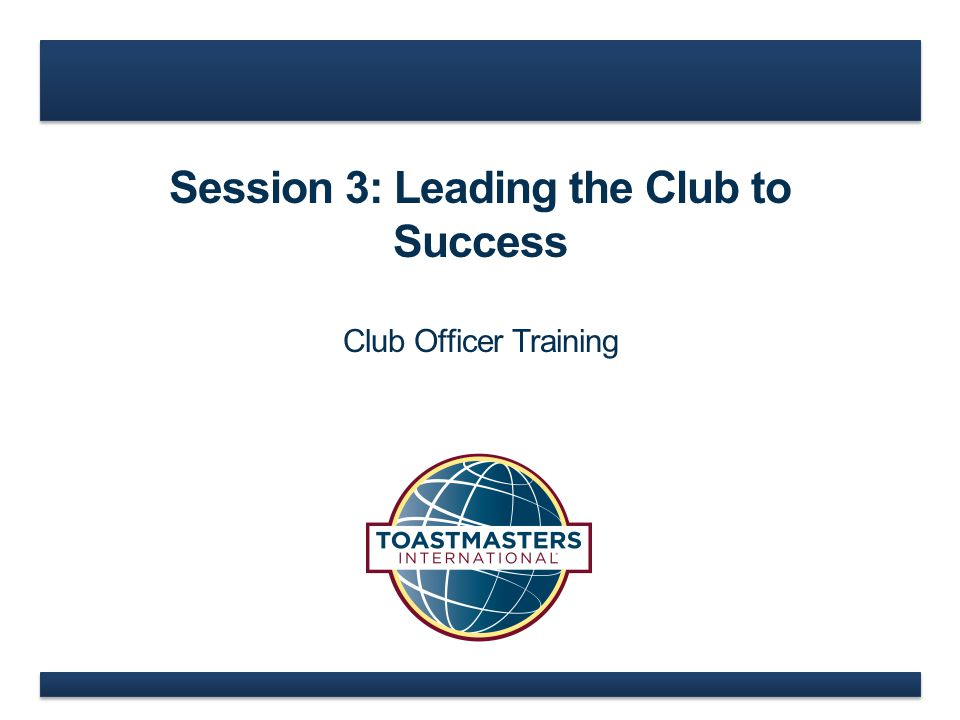 www.toastmasters.org  What actions need to be taken.
