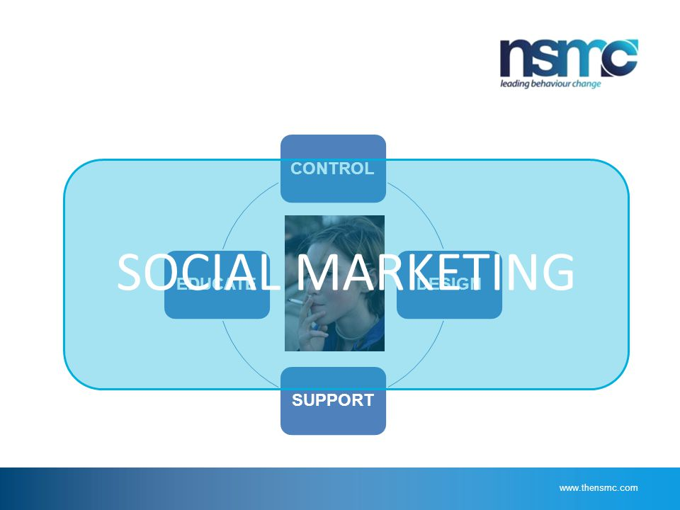 CONTROLDESIGNSUPPORTEDUCATE SOCIAL MARKETING