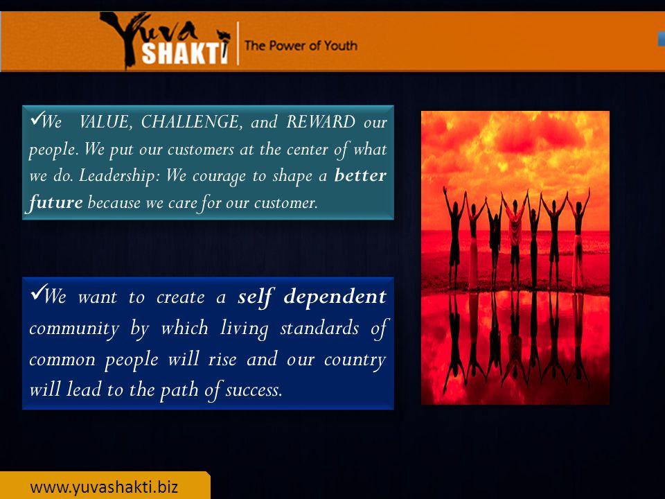 www.yuvashakti.biz HOW IT STARTED ?