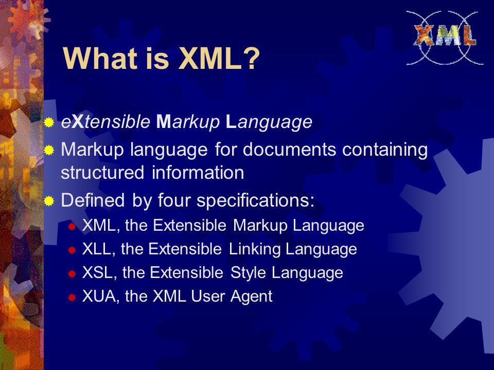 DTD (cont'd)  Consider an XML document: Alan 42 agb@usa.net ……… ……….