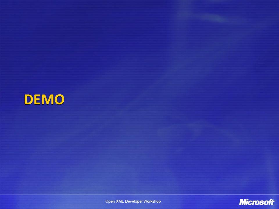 Open XML Developer Workshop Custom XML Mapping Example Map the Schema Open a blank Excel spreadsheet.