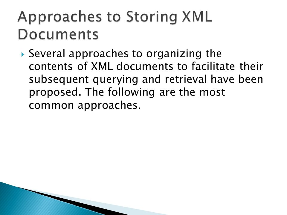  Objective: Creating application to extract XML documents for student course and grade information from University DB.