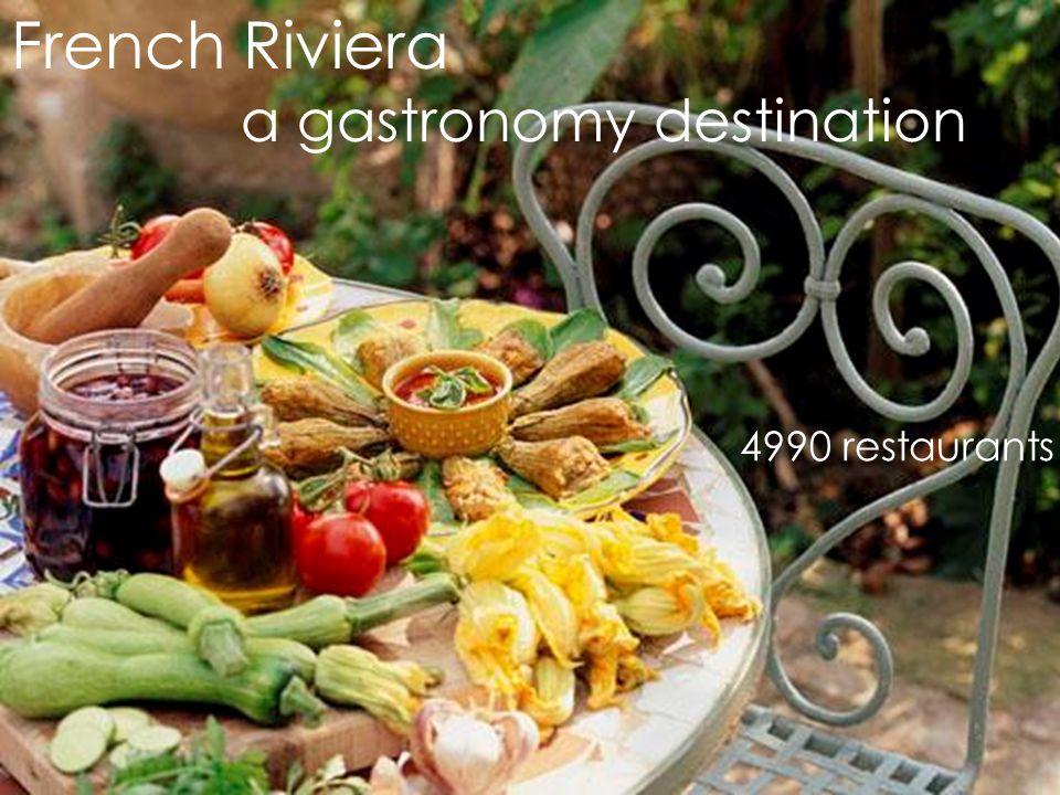 French Riviera A gastronomy destination 36 Michelin 2010 Restaurants