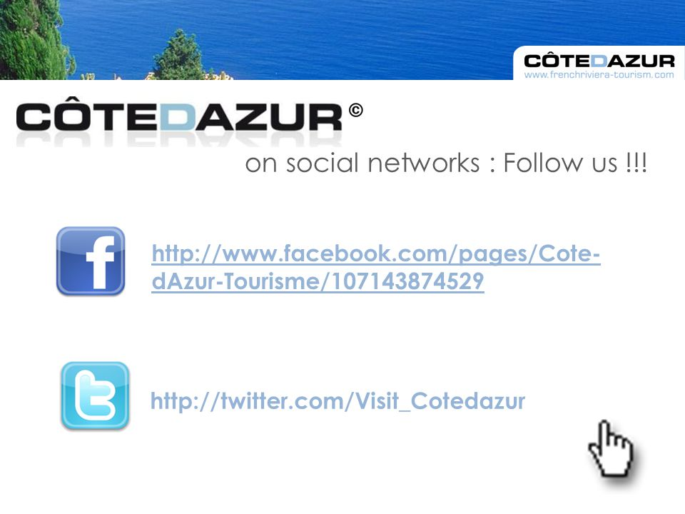 on social networks : Follow us !!.