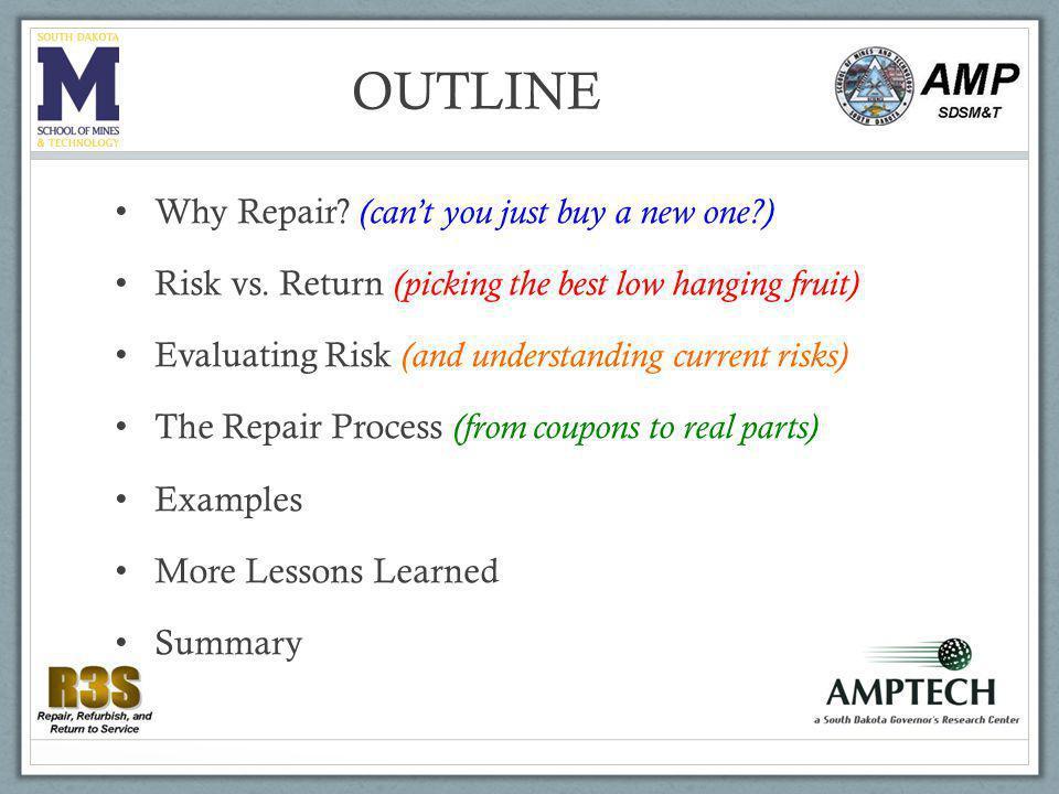 Why repair.
