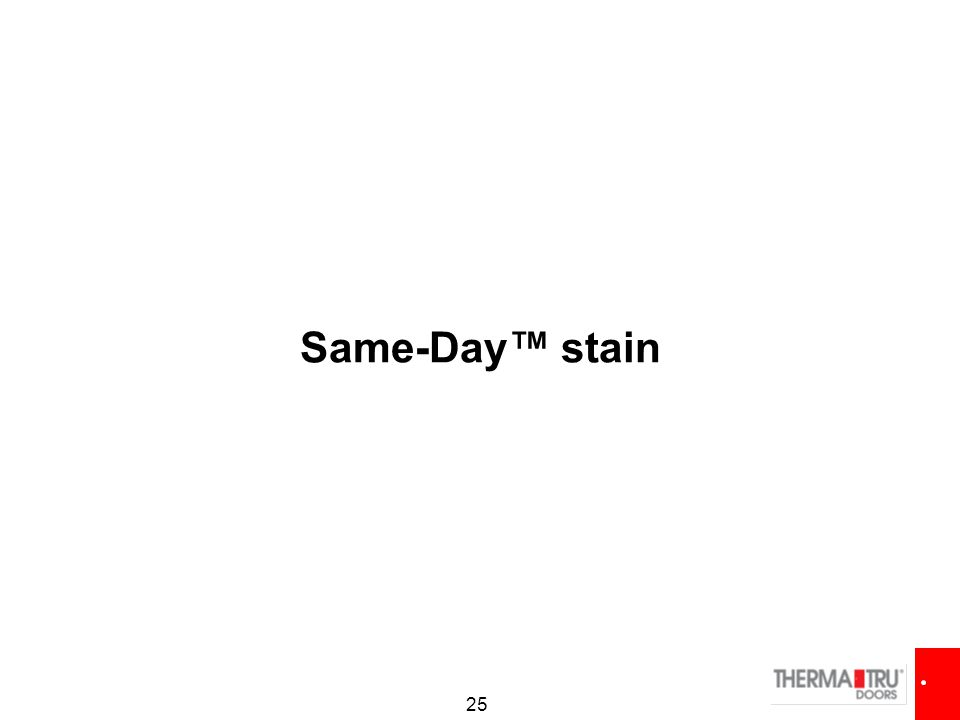 25 Same-Day™ stain