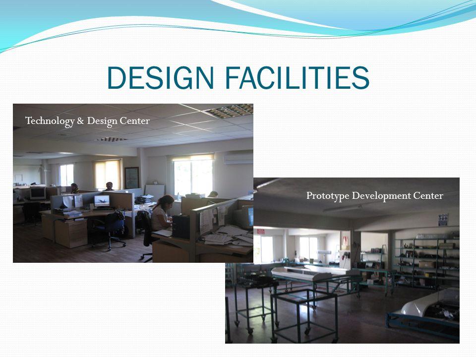 DESIGN FACILITIES Technology & Design Center Prototype Development Center
