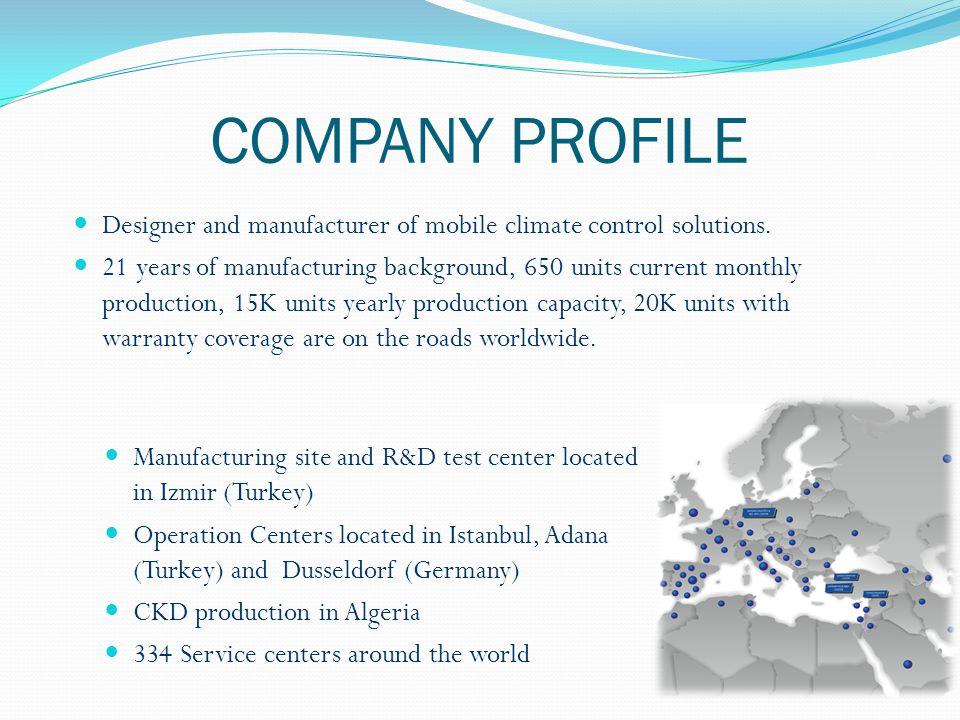 PRODUCT RANGE Minibus A/C Midibus A/C Bus A/C COMMERCIAL VEHICLE A/C SYSTEMS