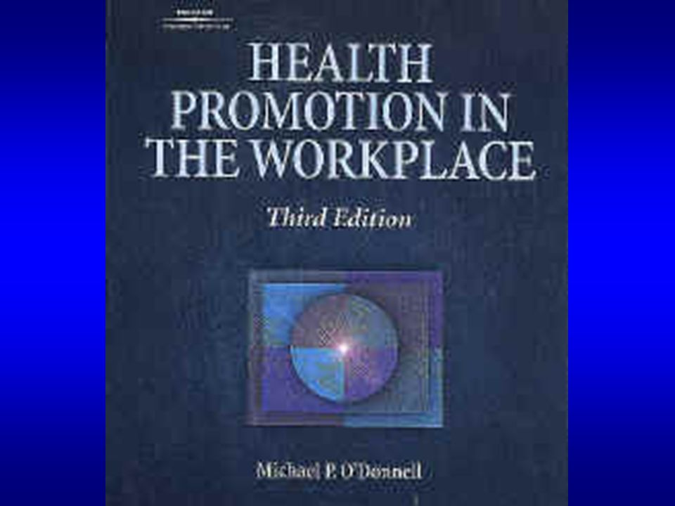 Current Approaches to Health Promotion Setting (e.g.