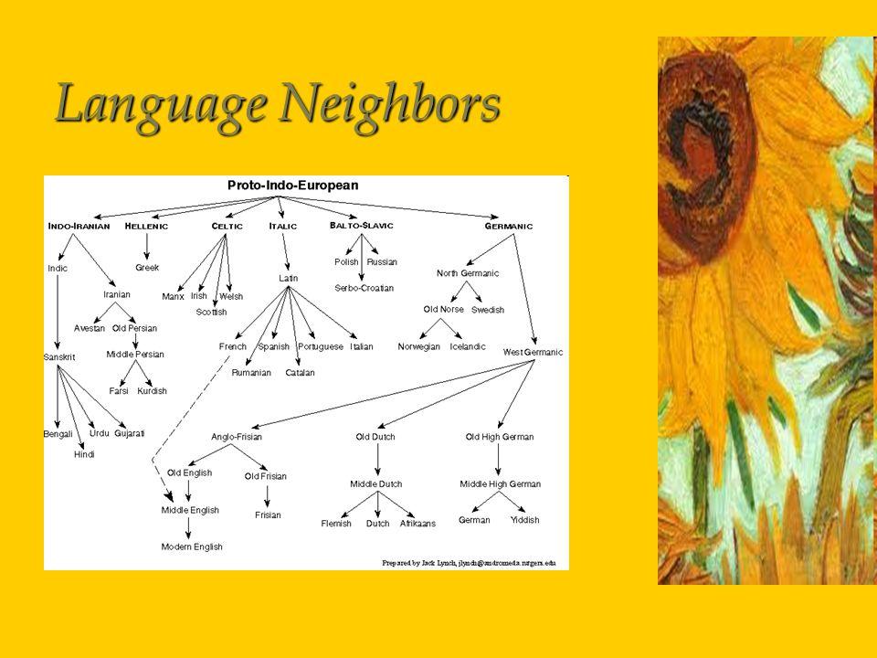 Language Neighbors