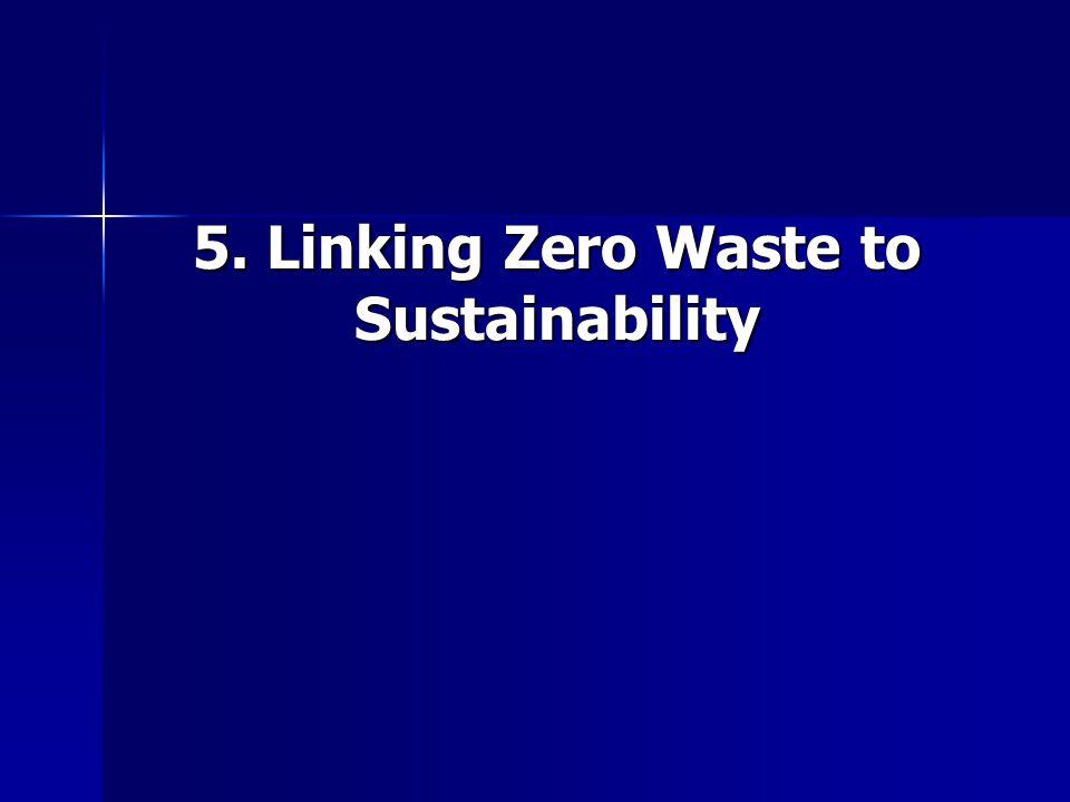 5. Linking Zero Waste to Sustainability