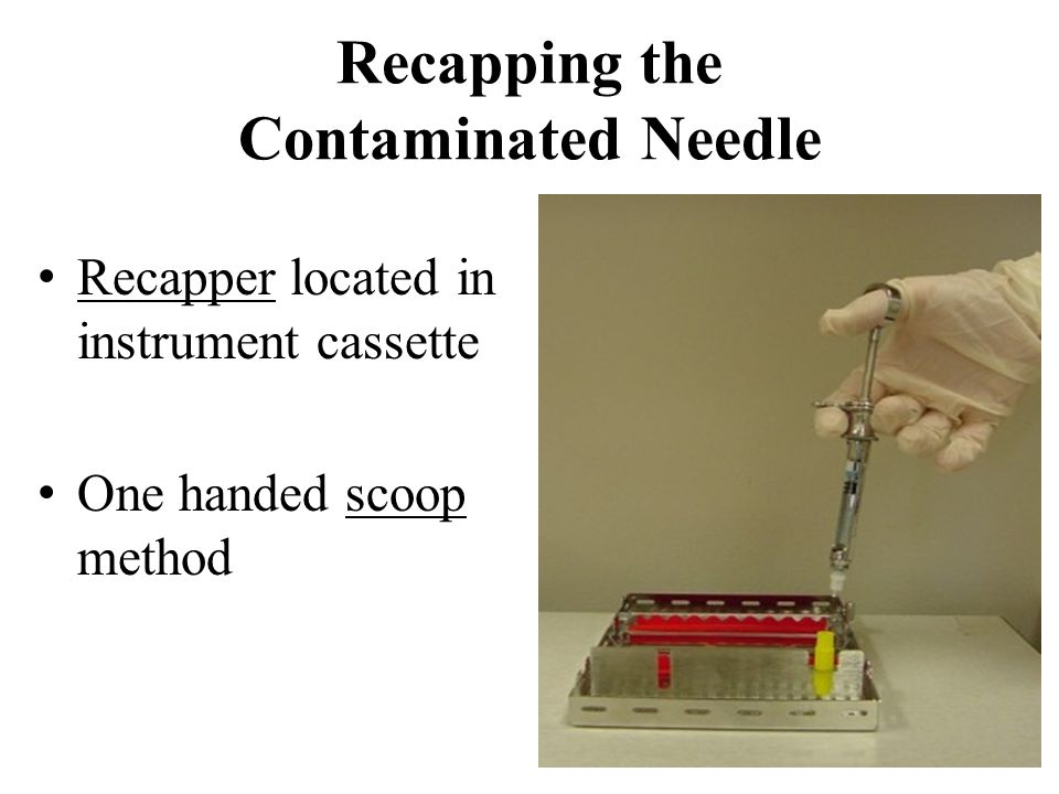 4.What is recommended to assemble on the syringe first, the needle or the cartridge.