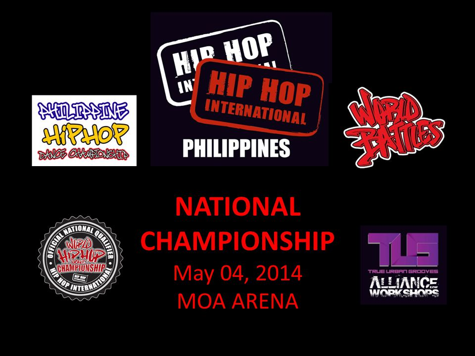NATIONAL CHAMPIONSHIP May 04, 2014 MOA ARENA