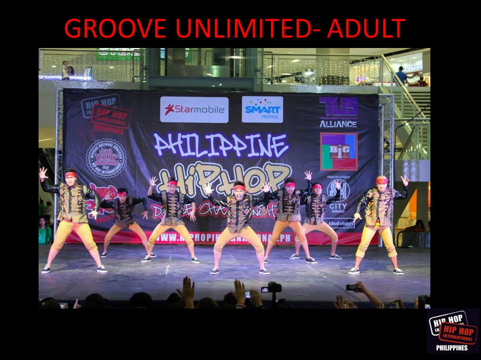 GROOVE UNLIMITED- ADULT