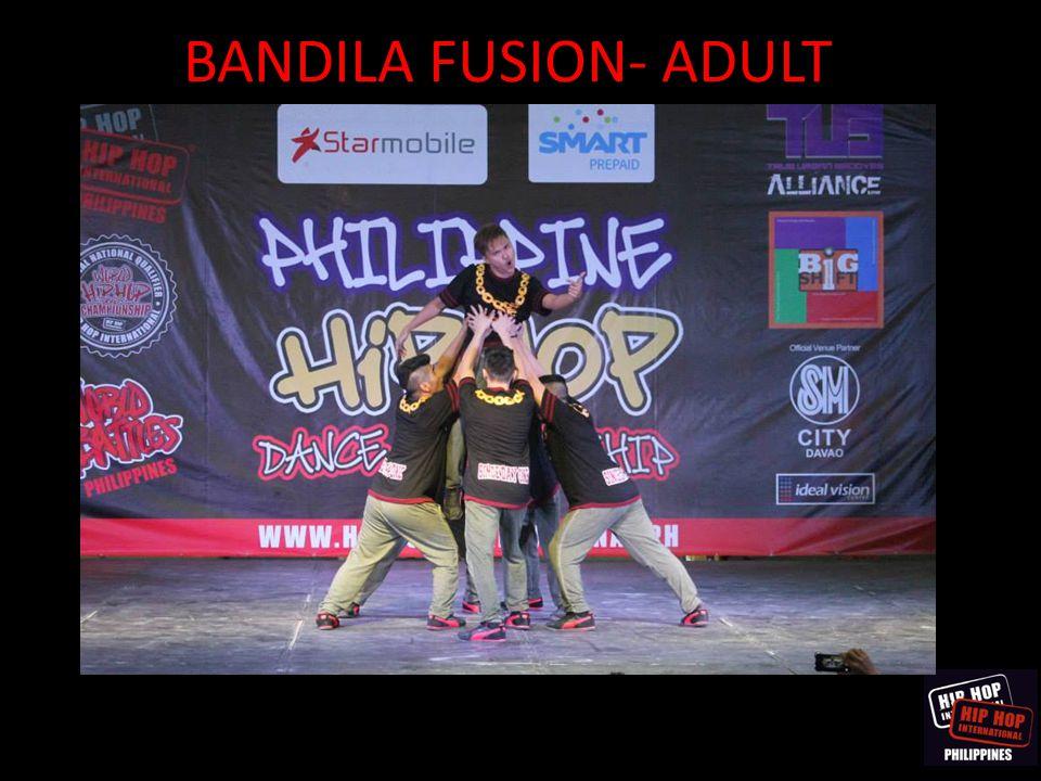 BANDILA FUSION- ADULT