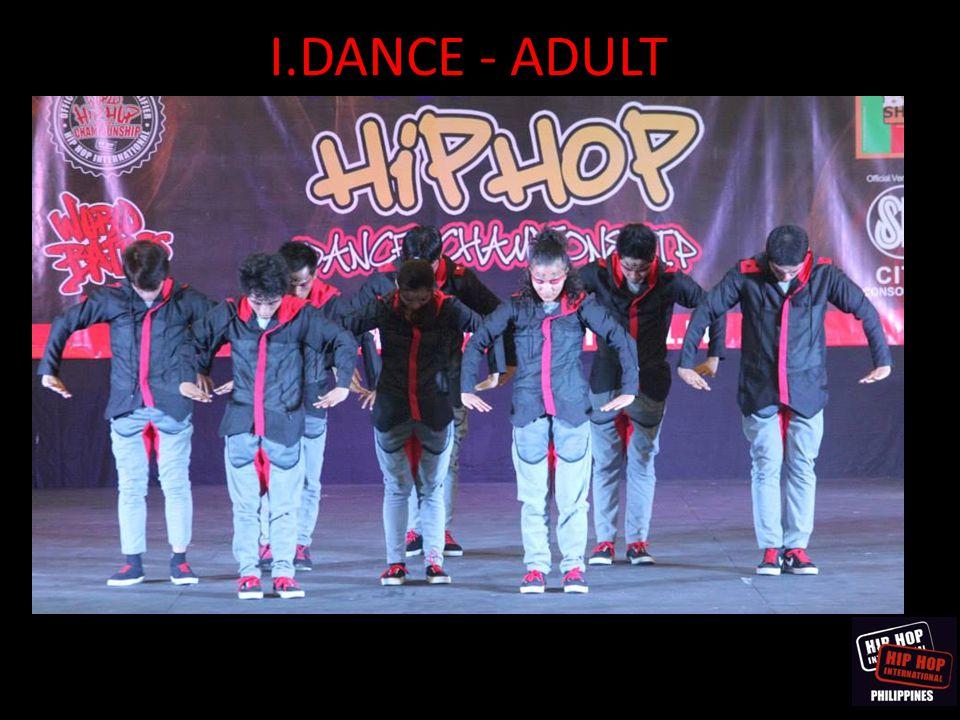 I.DANCE - ADULT