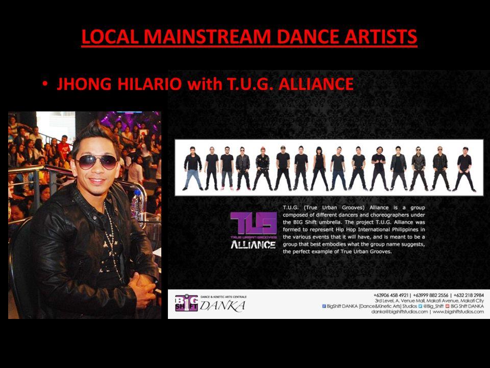 LOCAL MAINSTREAM DANCE ARTISTS KENJHONS w/ the ROCKSTARS