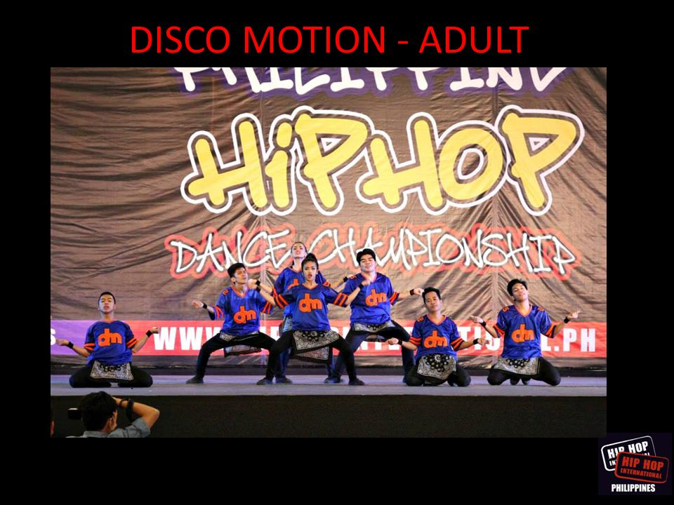 DISCO MOTION - ADULT