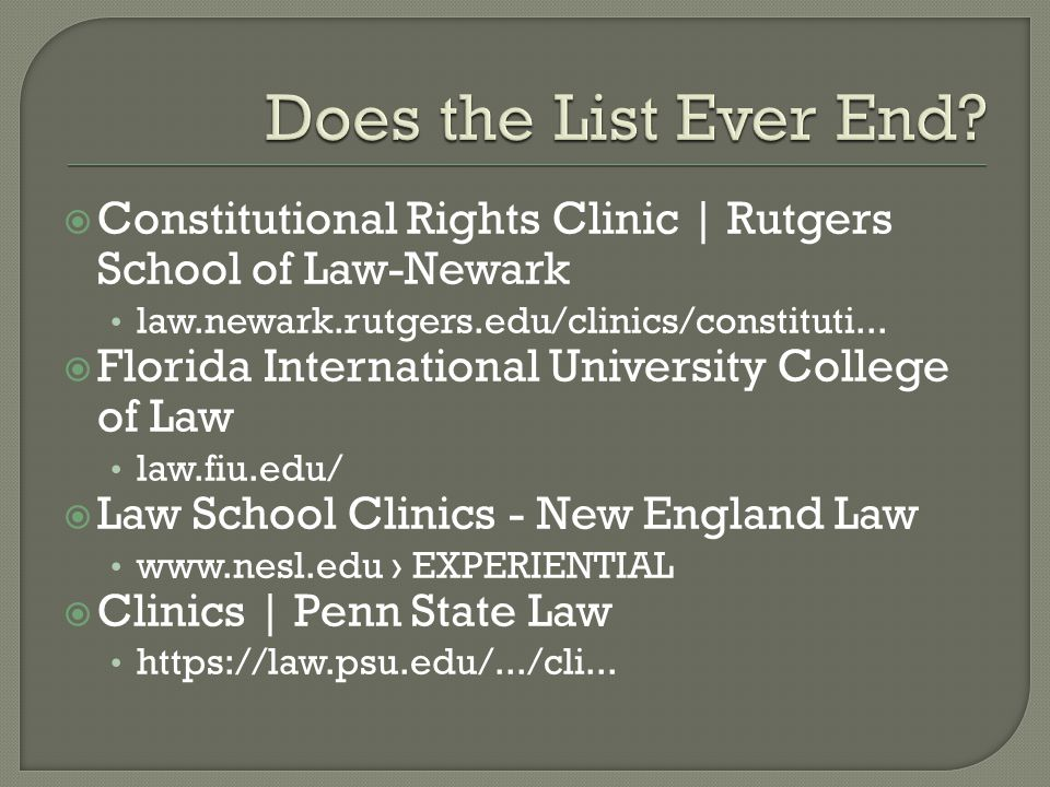  Constitutional Rights Clinic | Rutgers School of Law-Newark law.newark.rutgers.edu/clinics/constituti...