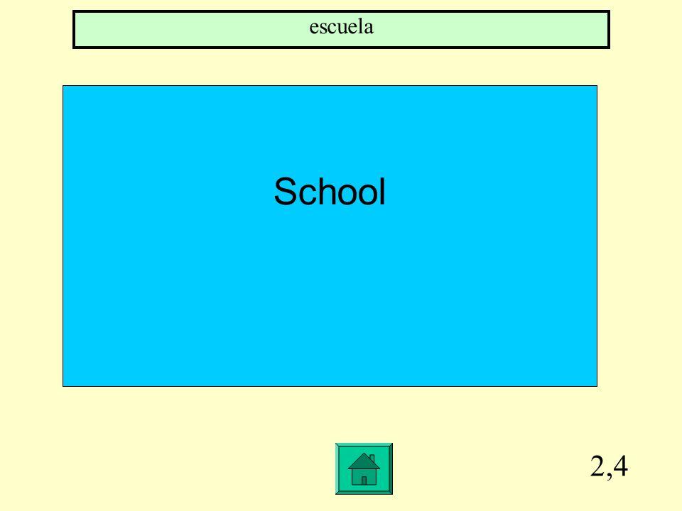 2,4 School escuela