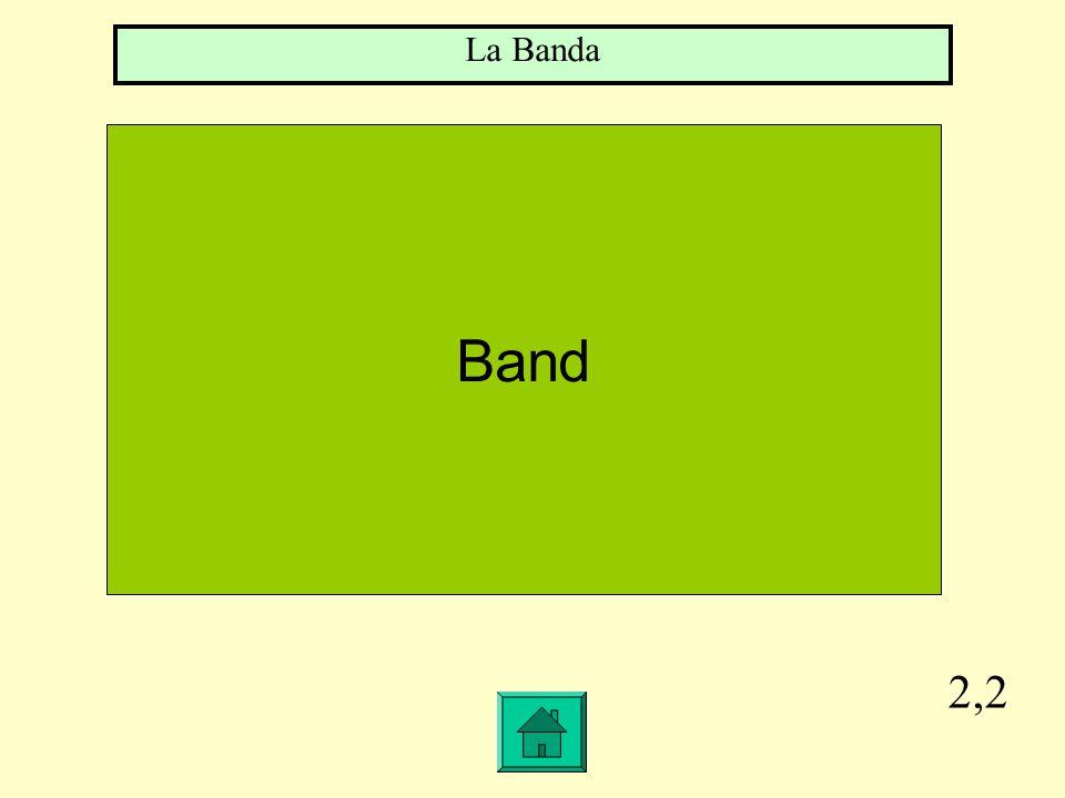 2,2 Band La Banda