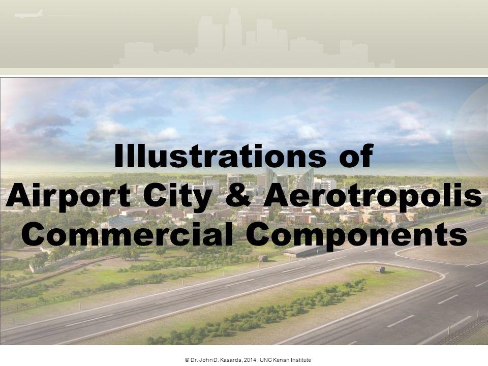 © Dr. John D. Kasarda, 2014, UNC Kenan Institute Illustrations of Airport City & Aerotropolis Commercial Components