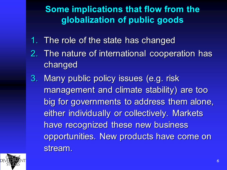 7 The role of the state has changed States are no longer the overarching institution States are no longer the overarching institution States (and countries, not only firms and other individual private actors) are in rivalry with each other States (and countries, not only firms and other individual private actors) are in rivalry with each other States no longer enjoy (if ever they did) unique powers to coerce (e.g.