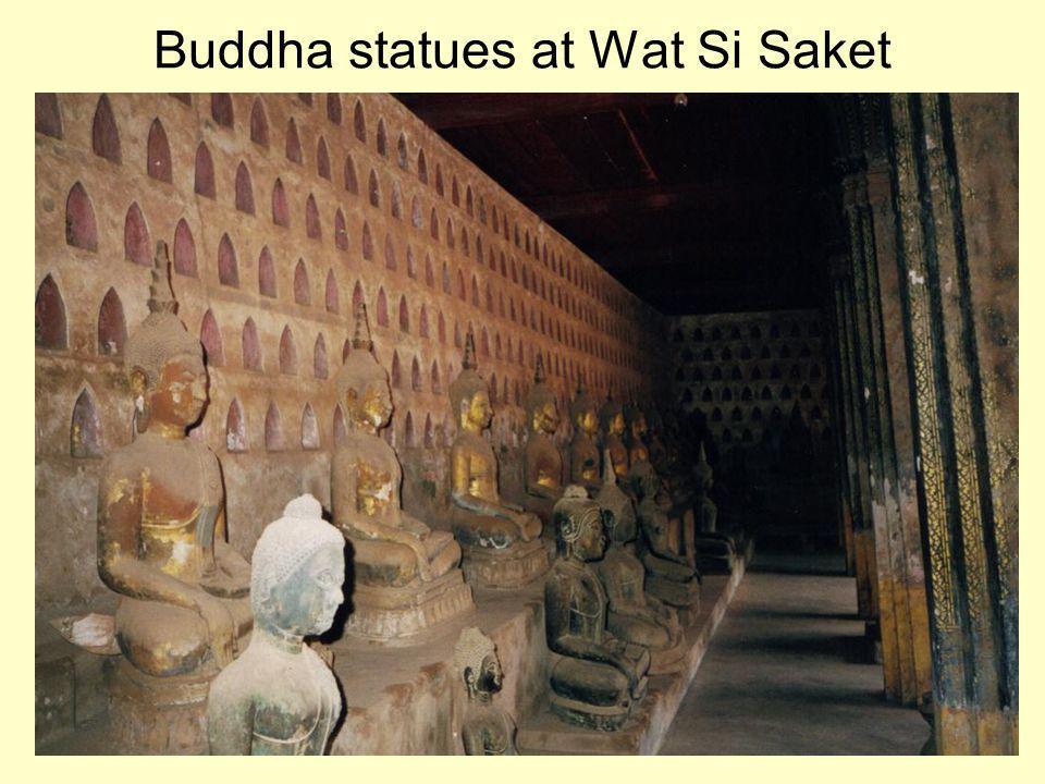 Buddha statues at Wat Si Saket