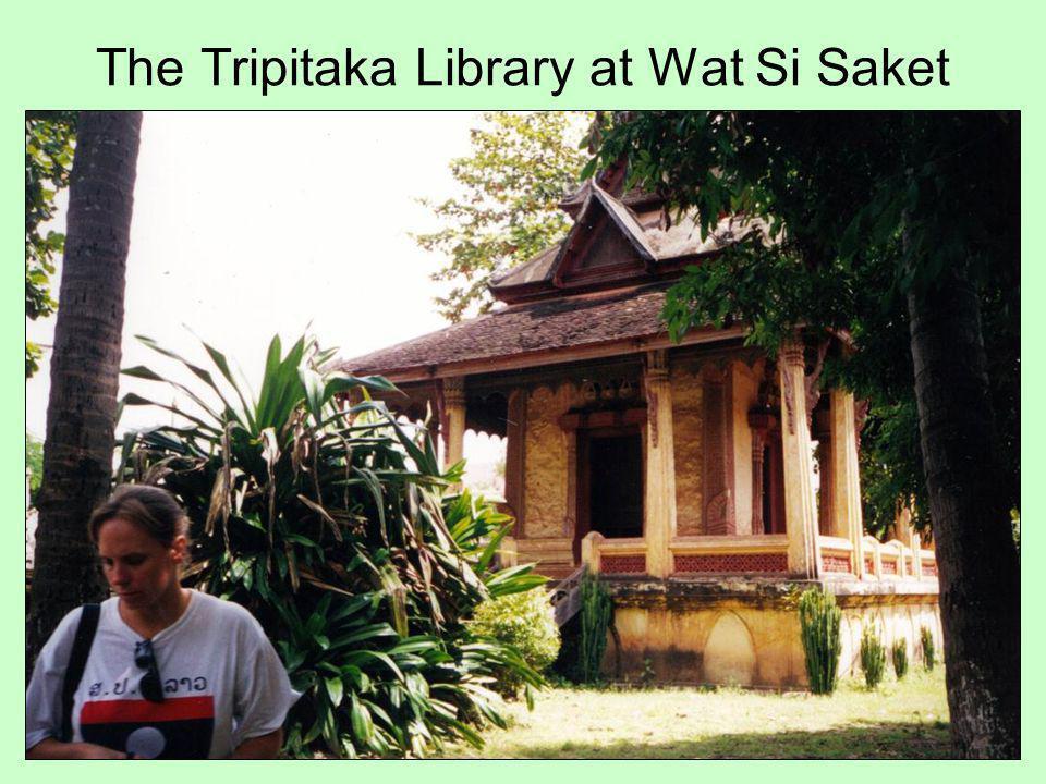 The Tripitaka Library at Wat Si Saket