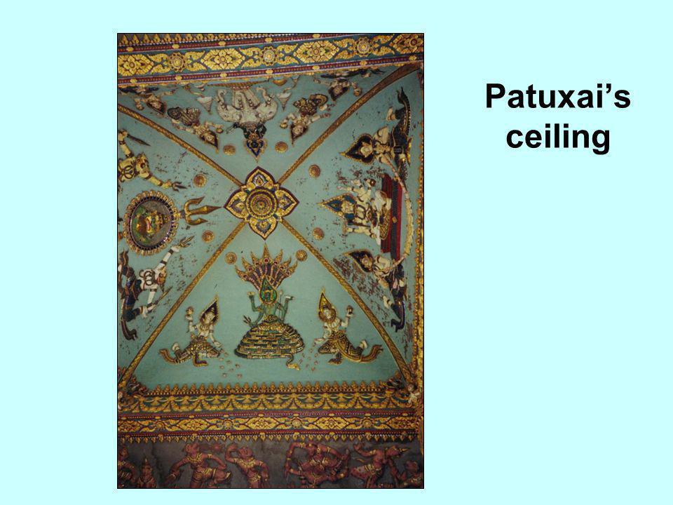Patuxai's ceiling