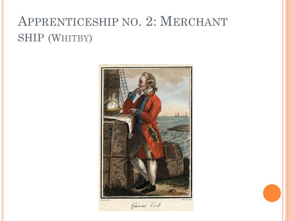 A PPRENTICESHIP NO. 2: M ERCHANT SHIP (W HITBY )