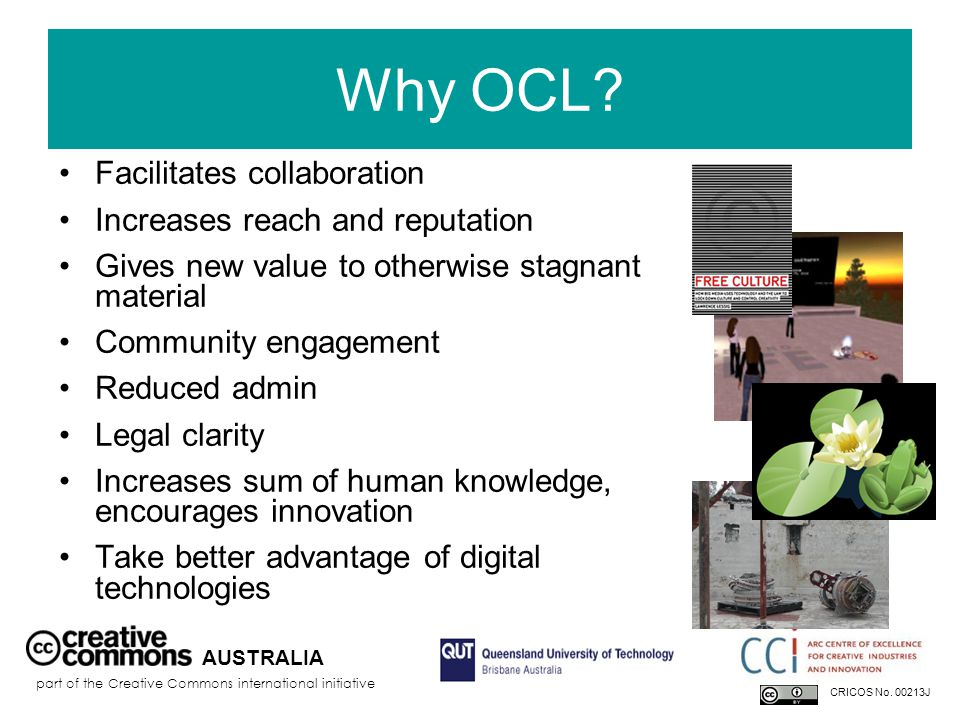 Why OCL.