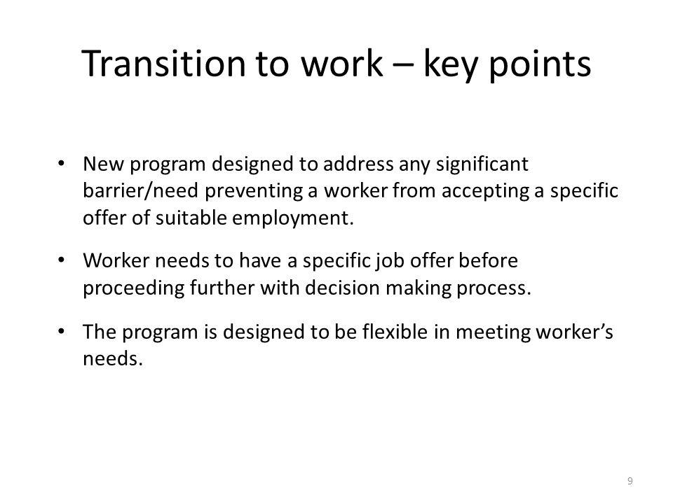 JobCover Placement Program - enhancements 10 1.
