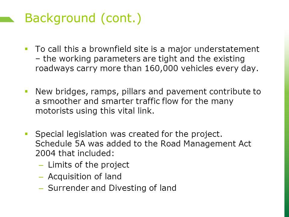 Redevelopment Project area - LEGL plans