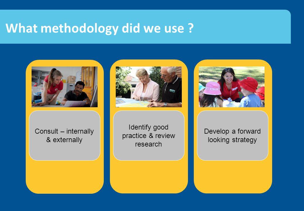 Client & community facing Leadership & culture Volunteer management Key findings - internal