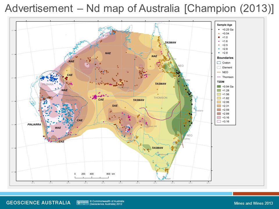 Mines and Wines 2013 Advertisement – Nd map of Australia [Champion (2013)]