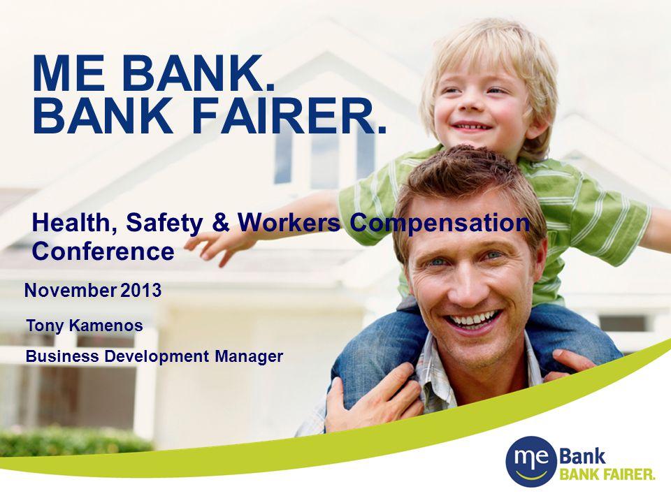 ME BANK.BANK FAIRER.