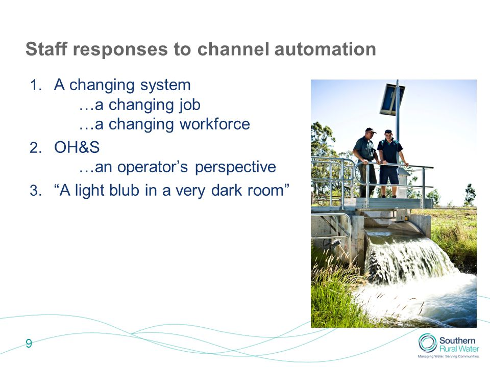 10 Staff responses to channel automation 1.