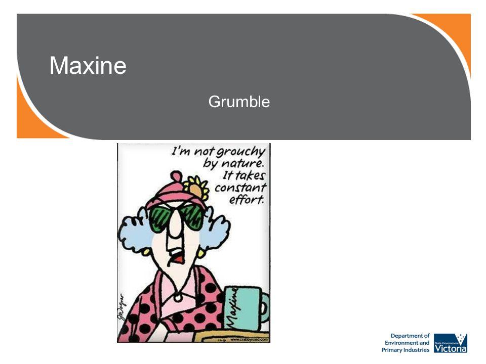 Maxine Grumble