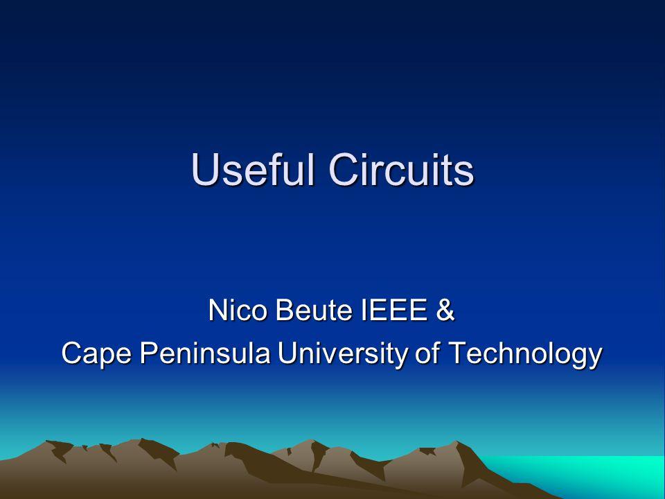 Focus Series and Parallel Circuit Design