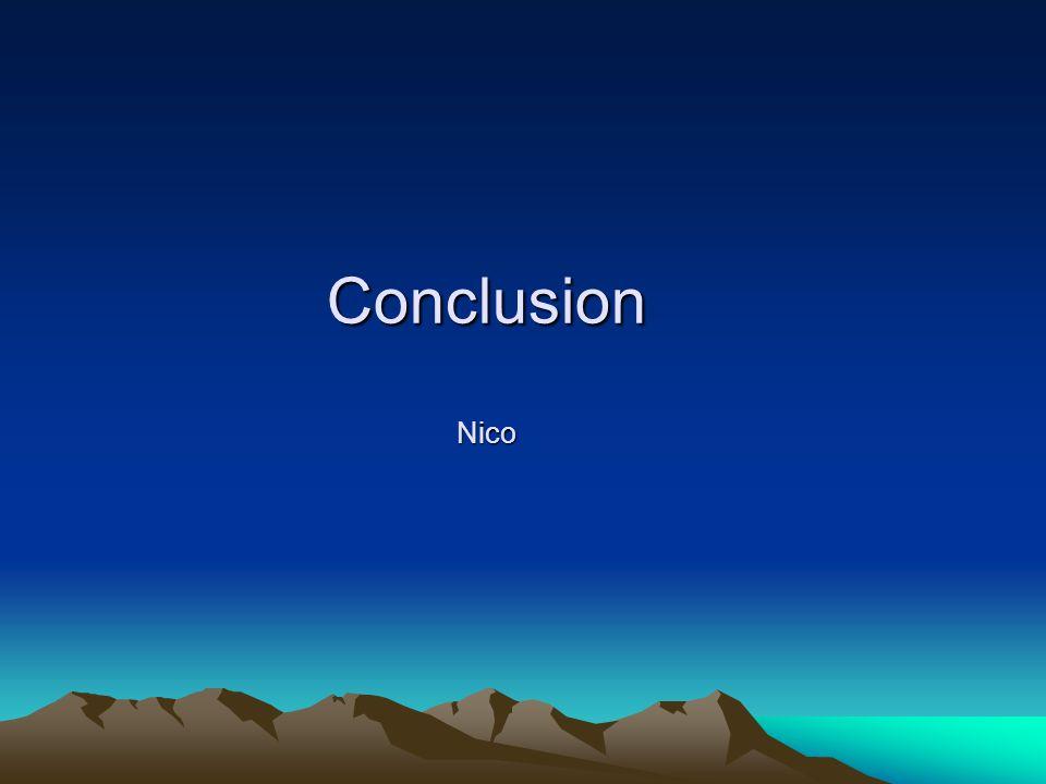 Conclusion Nico