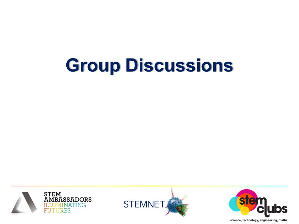 Group DiscussionsGroup Discussions