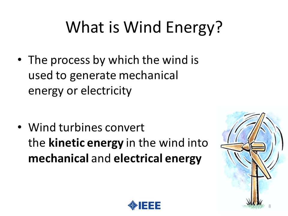 What is Wind Energy.