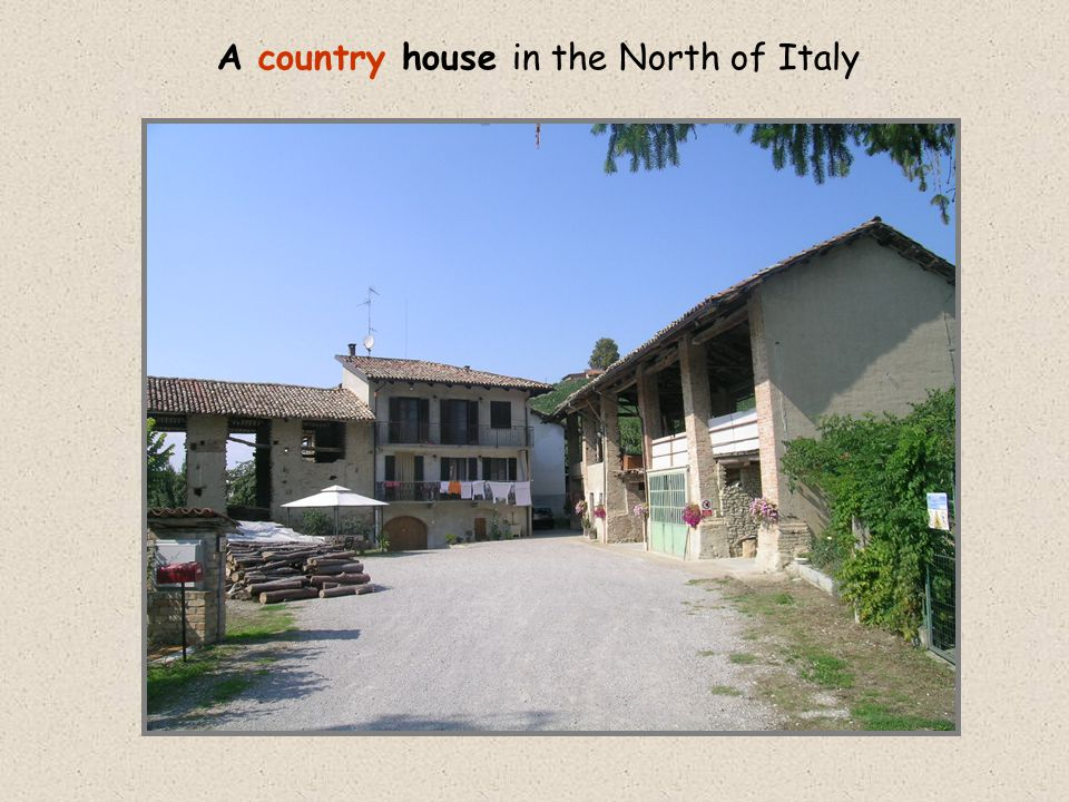 A country house in the North of Italy