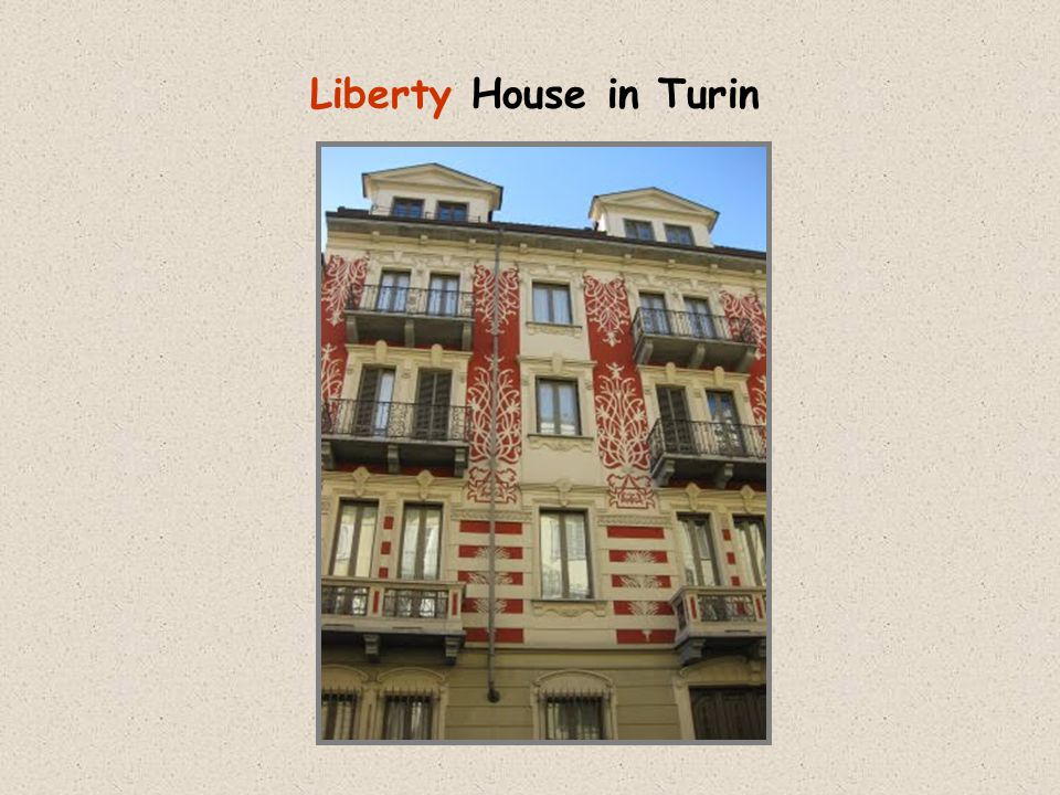 Liberty House in Turin