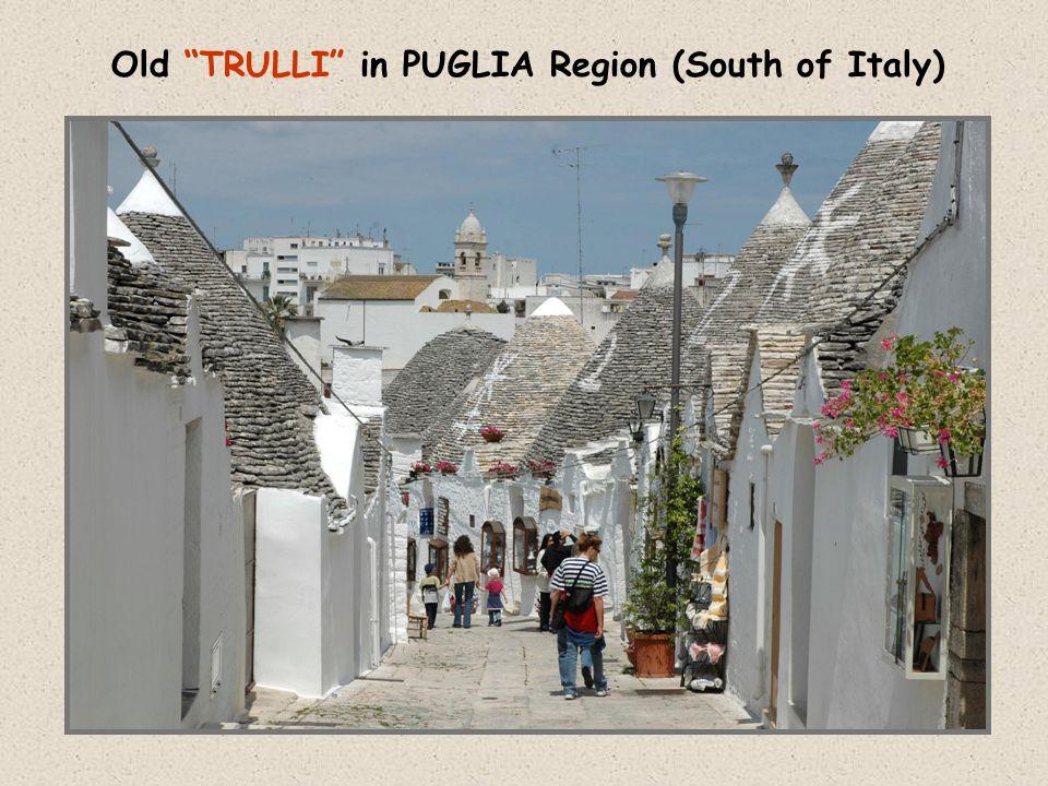 "Old ""TRULLI"" in PUGLIA Region (South of Italy)"