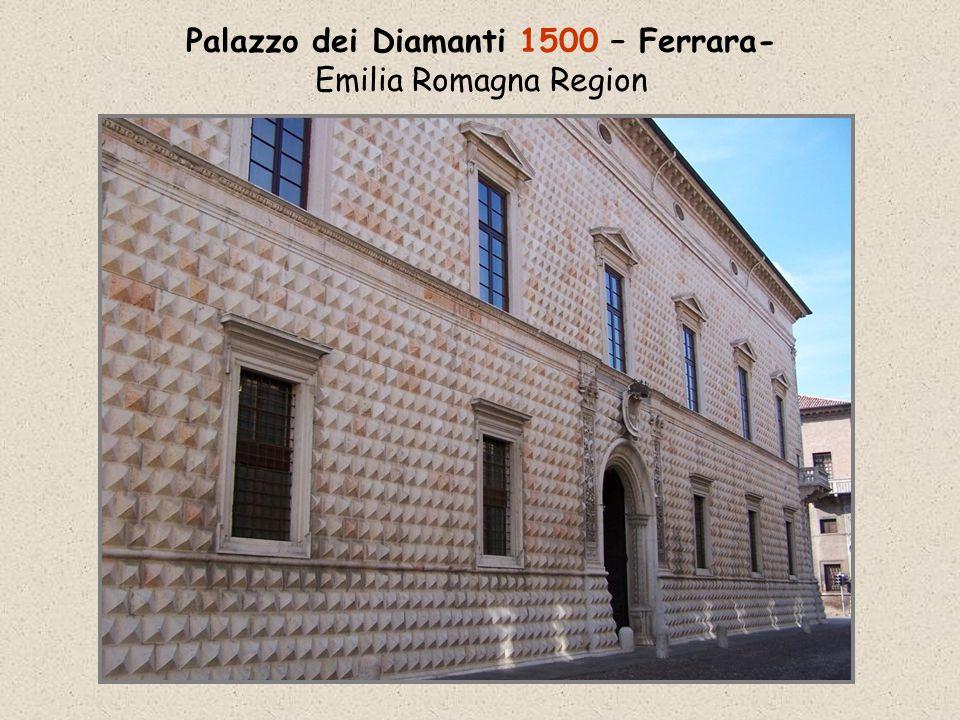 Palazzo dei Diamanti 1500 – Ferrara- Emilia Romagna Region