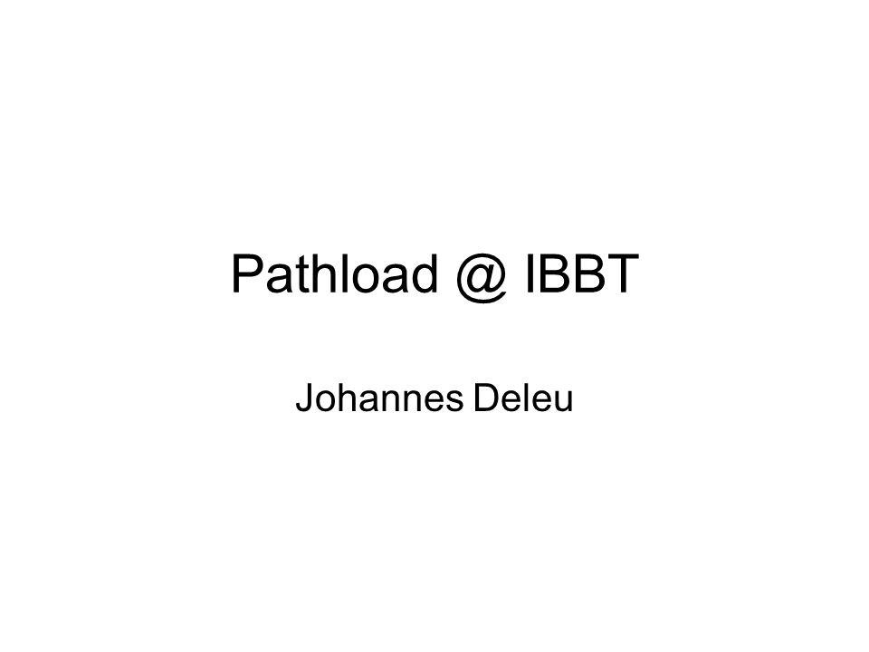 Pathload @ IBBT Johannes Deleu