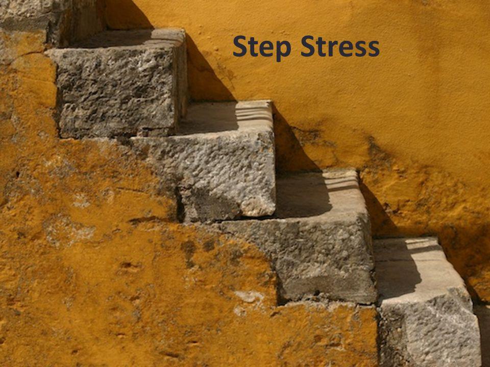 Step Stress