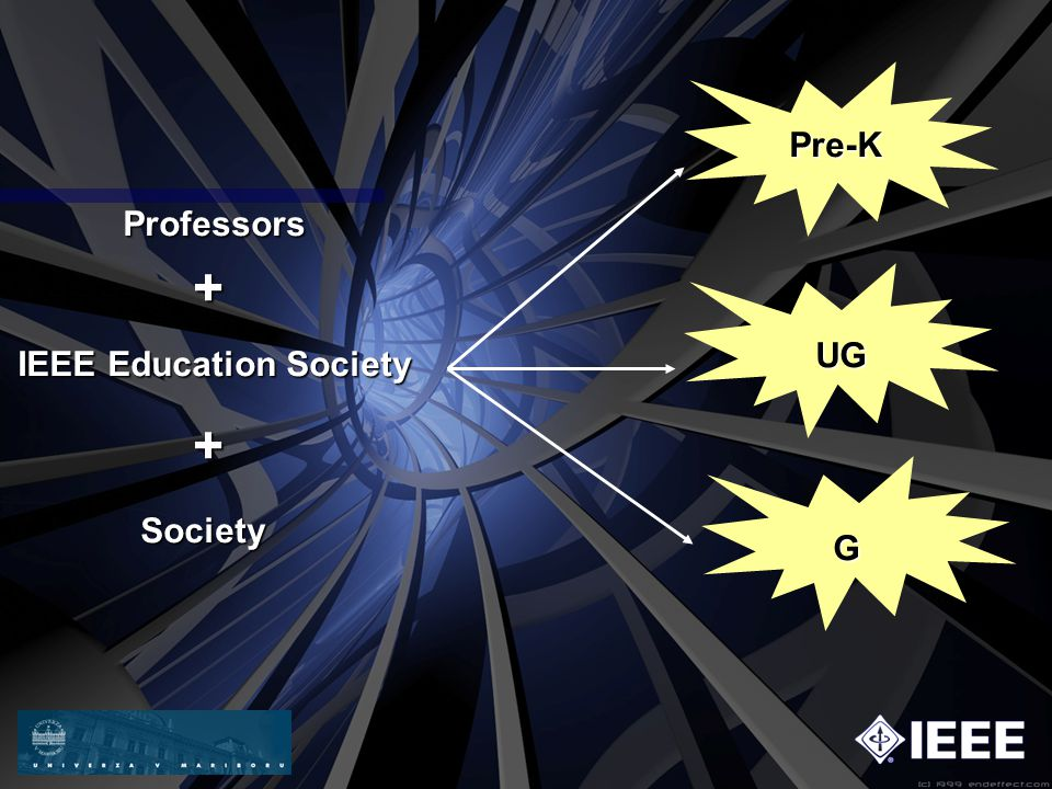 IEEE Education Society Pre-K UG G + + Professors Society